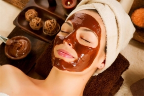 Маска с какао для лица