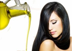 Оливковое масло для волос в виде маски