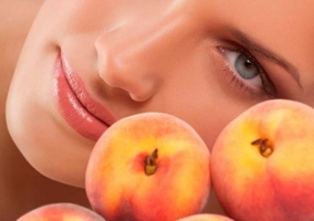 Маска из персика для лича