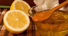 Маски с медом и лимоном