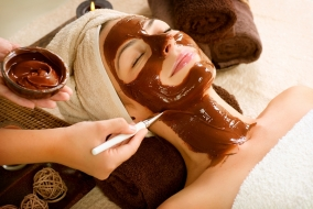 Шоколадная маска дома