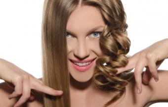 Как выпрямить волосы дома