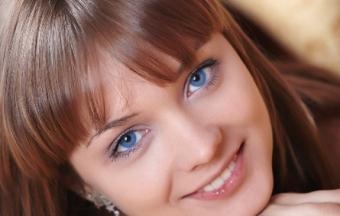 Правильный цвет волос под цвет глаз