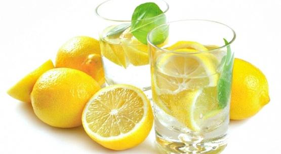 Для волос лимонная вода